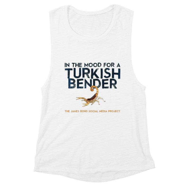 Turkish Bender Women's Muscle Tank by 007hertzrumble's Artist Shop
