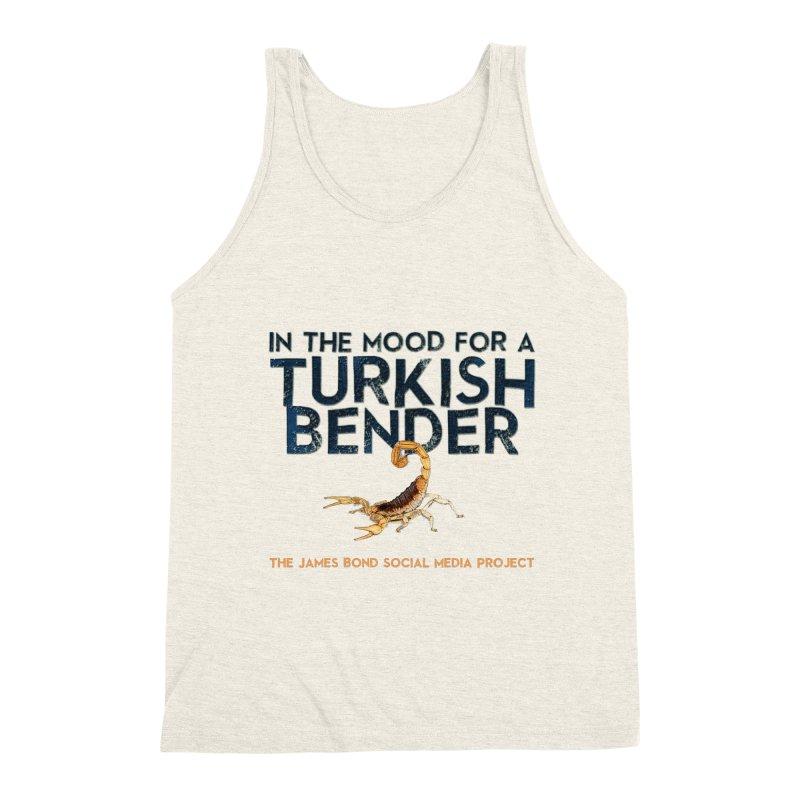 Turkish Bender Men's Triblend Tank by 007hertzrumble's Artist Shop