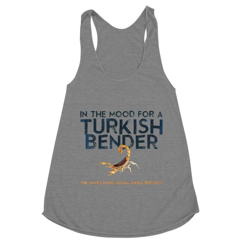 Turkish Bender Women's Racerback Triblend Tank by 007hertzrumble's Artist Shop