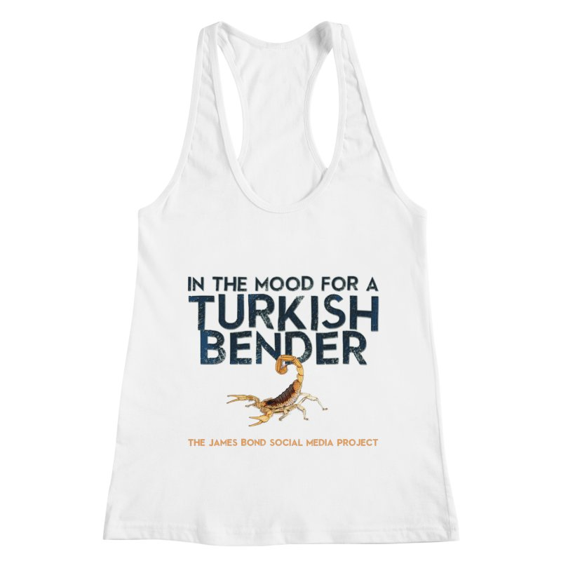 Turkish Bender Women's Racerback Tank by 007hertzrumble's Artist Shop