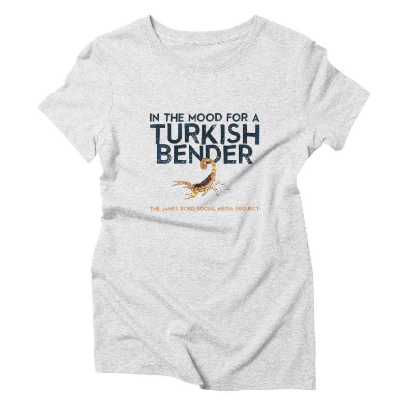 Turkish Bender Women's T-Shirt by 007hertzrumble's Artist Shop