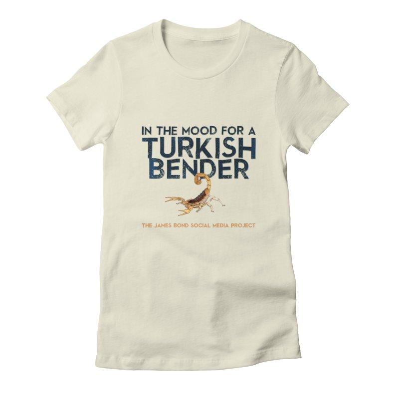 Turkish Bender Women's Fitted T-Shirt by 007hertzrumble's Artist Shop