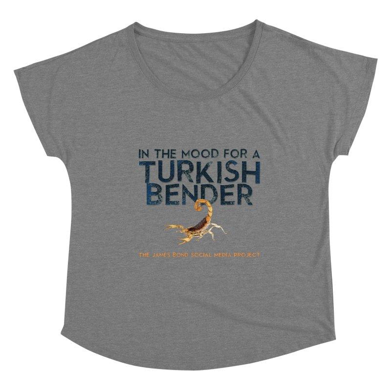 Turkish Bender Women's Scoop Neck by 007hertzrumble's Artist Shop