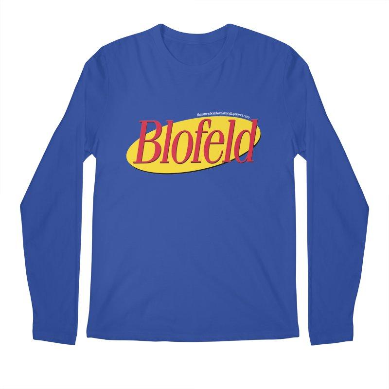 Blofeld: A Villain About Nothing Men's Regular Longsleeve T-Shirt by 007hertzrumble's Artist Shop