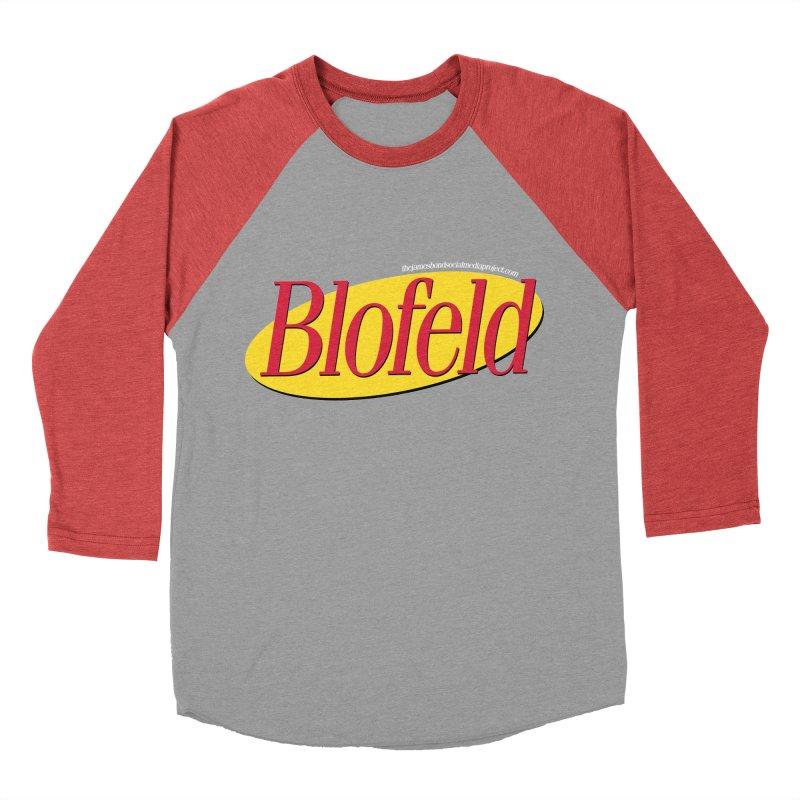 Blofeld: A Villain About Nothing Women's Baseball Triblend Longsleeve T-Shirt by 007hertzrumble's Artist Shop