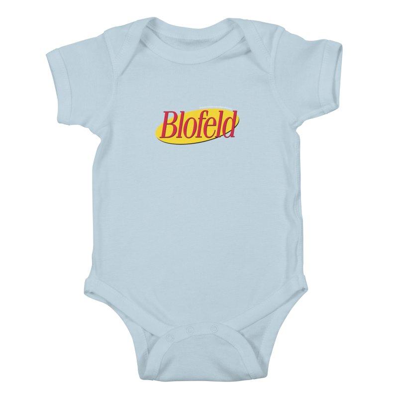 Blofeld: A Villain About Nothing Kids Baby Bodysuit by 007hertzrumble's Artist Shop