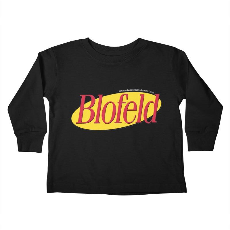 Blofeld: A Villain About Nothing Kids Toddler Longsleeve T-Shirt by 007hertzrumble's Artist Shop