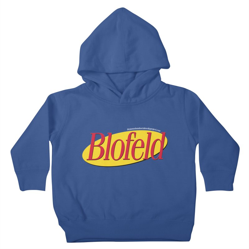 Blofeld: A Villain About Nothing Kids Toddler Pullover Hoody by 007hertzrumble's Artist Shop