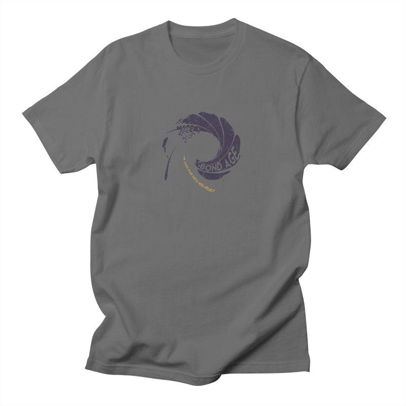 #Bond_age_ Gunbarrel Logo Men's T-Shirt by 007hertzrumble's Artist Shop