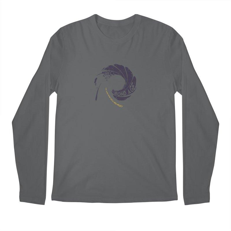 #Bond_age_ Gunbarrel Logo Men's Longsleeve T-Shirt by 007hertzrumble's Artist Shop
