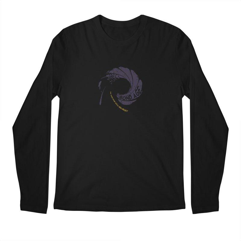 #Bond_age_ Gunbarrel Logo Men's Regular Longsleeve T-Shirt by 007hertzrumble's Artist Shop