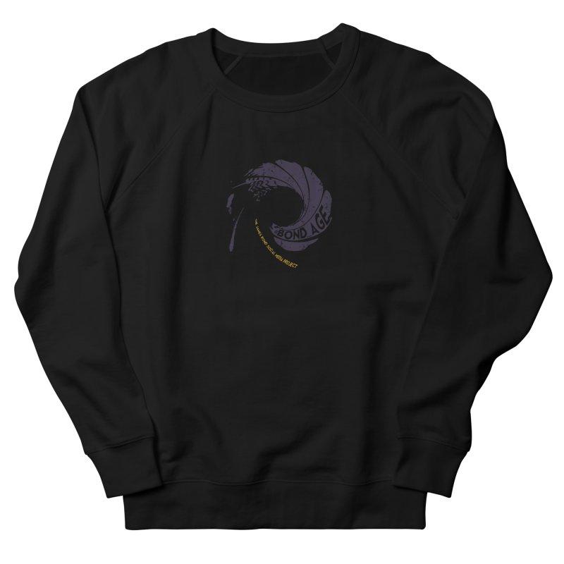 #Bond_age_ Gunbarrel Logo Women's French Terry Sweatshirt by 007hertzrumble's Artist Shop