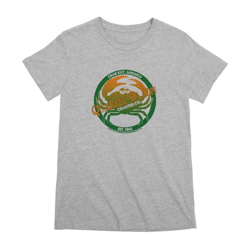 Quarrel & Son Charter Co. Est. 1962 Women's Premium T-Shirt by 007hertzrumble's Artist Shop