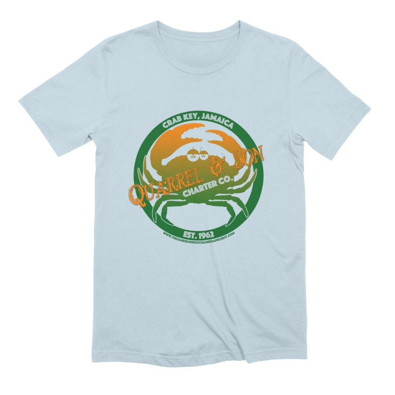Quarrel & Son Charter Co. Est. 1962 Men's Extra Soft T-Shirt by 007hertzrumble's Artist Shop