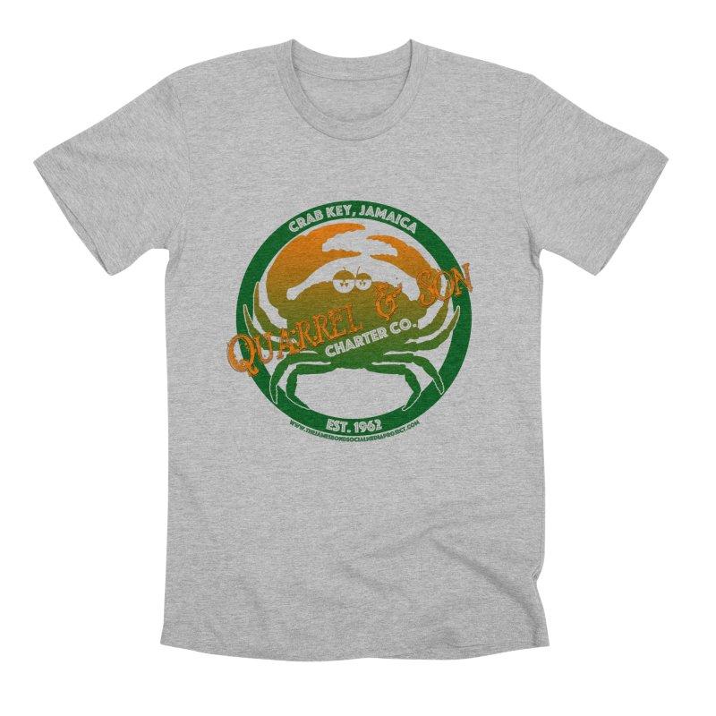 Quarrel & Son Charter Co. Est. 1962 Men's T-Shirt by 007hertzrumble's Artist Shop