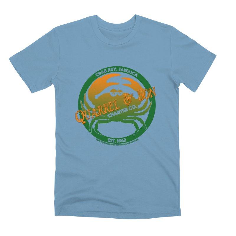 Quarrel & Son Charter Co. Est. 1962 Men's Premium T-Shirt by 007hertzrumble's Artist Shop