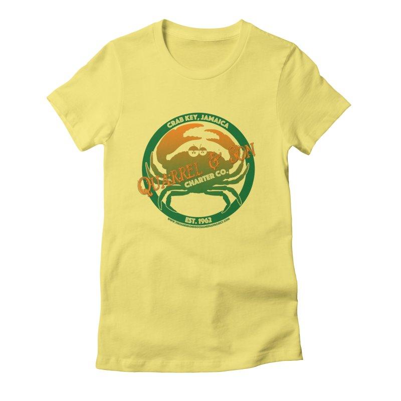 Quarrel & Son Charter Co. Est. 1962 Women's T-Shirt by 007hertzrumble's Artist Shop