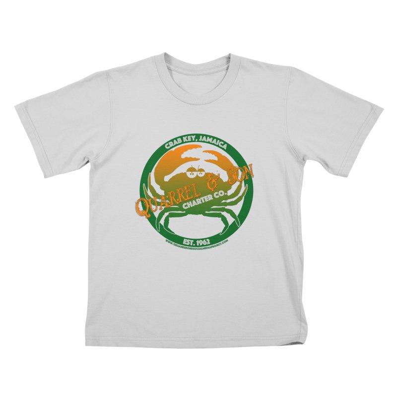Quarrel & Son Charter Co. Est. 1962 Kids T-Shirt by 007hertzrumble's Artist Shop
