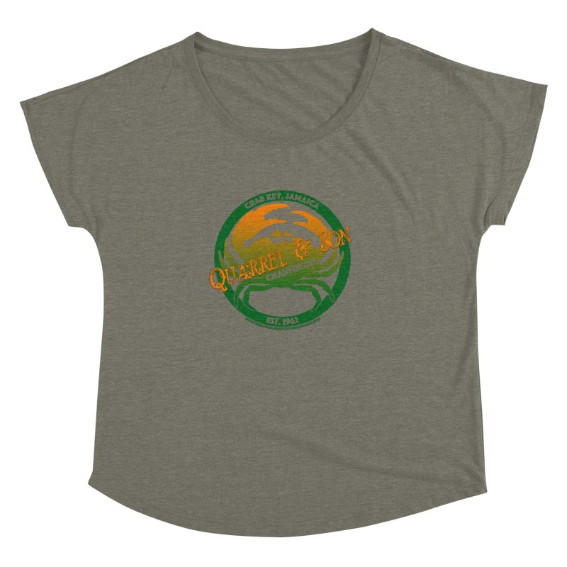 Quarrel & Son Charter Co. Est. 1962 Women's Dolman Scoop Neck by 007hertzrumble's Artist Shop