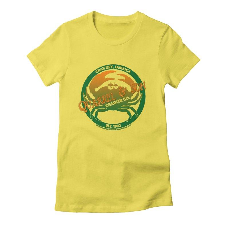 Quarrel & Son Charter Co. Est. 1962 Women's Fitted T-Shirt by 007hertzrumble's Artist Shop