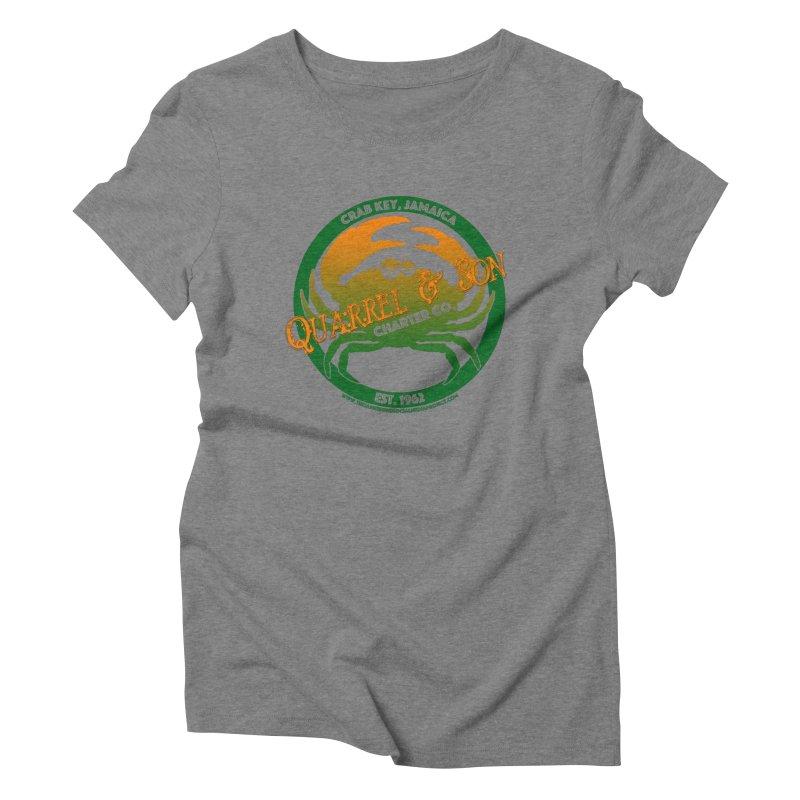 Quarrel & Son Charter Co. Est. 1962 Women's Triblend T-Shirt by 007hertzrumble's Artist Shop