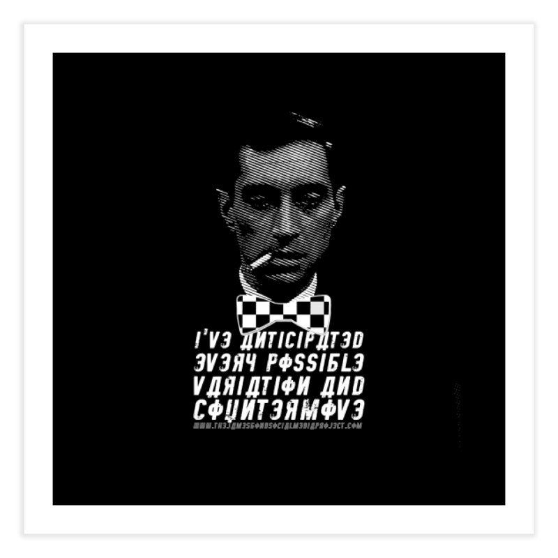 Kronsteen - I've Anticipated Every Possible Variation Home Fine Art Print by 007hertzrumble's Artist Shop