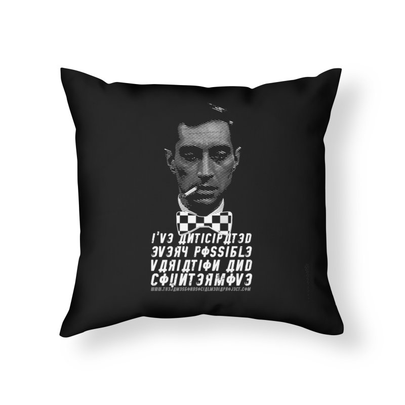 Kronsteen - I've Anticipated Every Possible Variation Home Throw Pillow by 007hertzrumble's Artist Shop