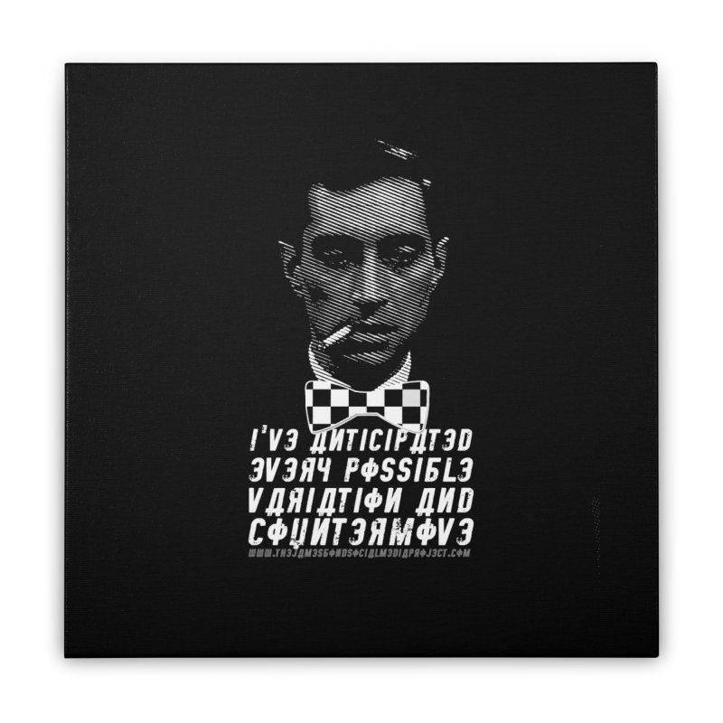 Kronsteen - I've Anticipated Every Possible Variation Home Stretched Canvas by 007hertzrumble's Artist Shop