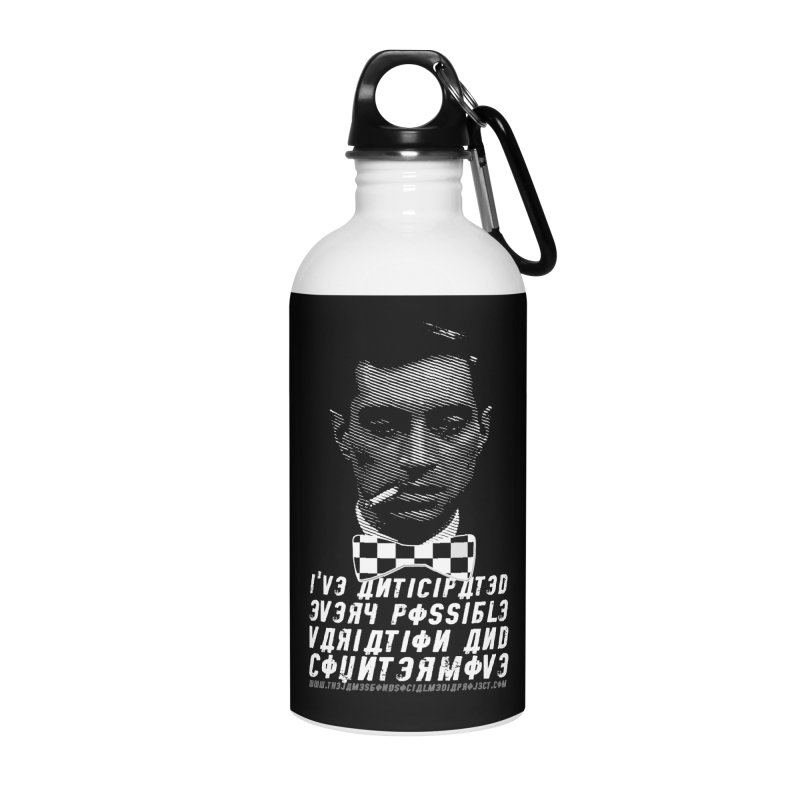 Kronsteen - I've Anticipated Every Possible Variation Accessories Water Bottle by 007hertzrumble's Artist Shop