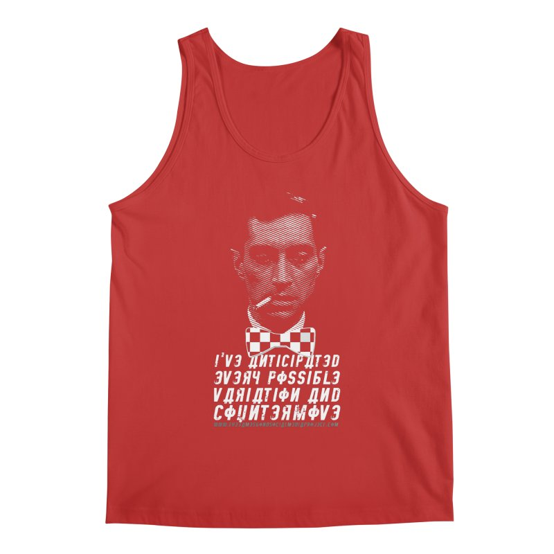 Kronsteen - I've Anticipated Every Possible Variation Men's Tank by 007hertzrumble's Artist Shop