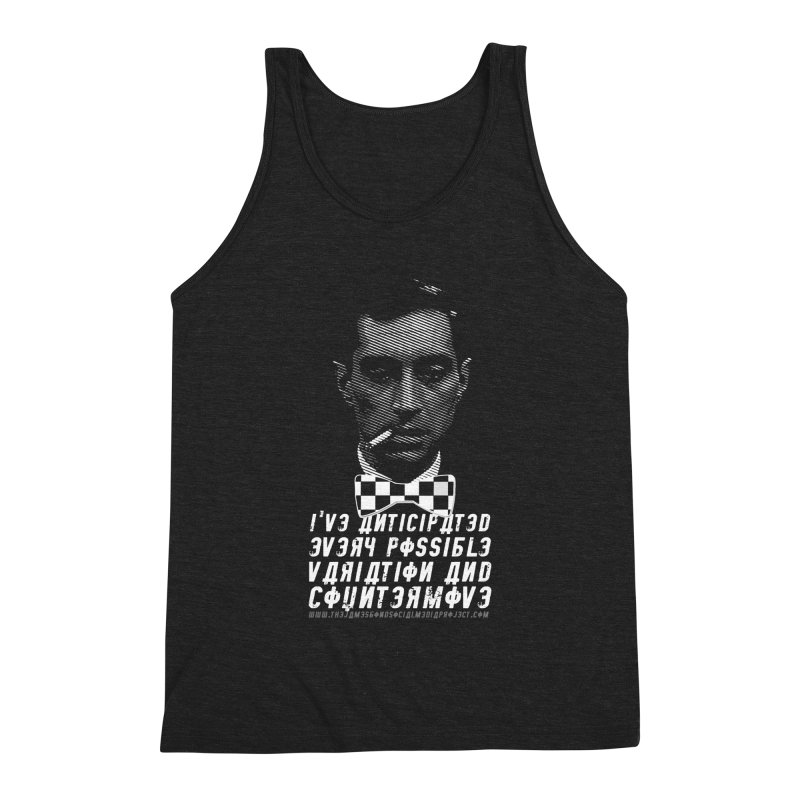 Kronsteen - I've Anticipated Every Possible Variation Men's Triblend Tank by 007hertzrumble's Artist Shop