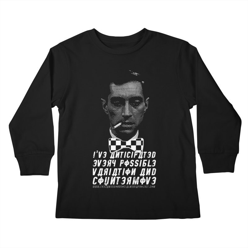 Kronsteen - I've Anticipated Every Possible Variation Kids Longsleeve T-Shirt by 007hertzrumble's Artist Shop