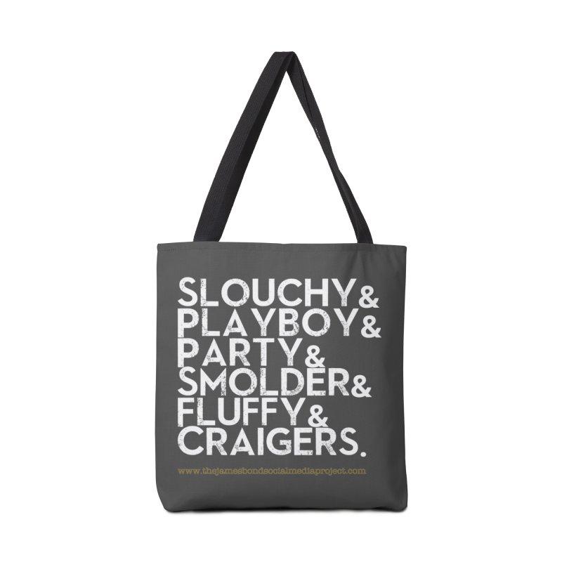 The Bonds Accessories Bag by 007hertzrumble's Artist Shop