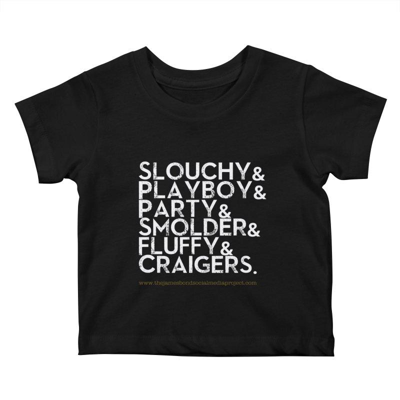 The Bonds Kids Baby T-Shirt by 007hertzrumble's Artist Shop