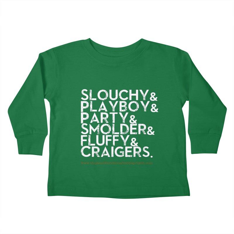 The Bonds Kids Toddler Longsleeve T-Shirt by 007hertzrumble's Artist Shop