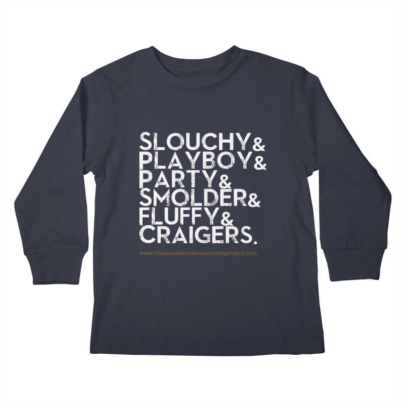The Bonds Kids Longsleeve T-Shirt by 007hertzrumble's Artist Shop