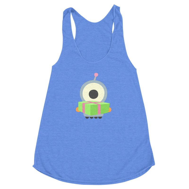 A Gift for you in Women's Racerback Triblend Tank Heather Sky Blue by B