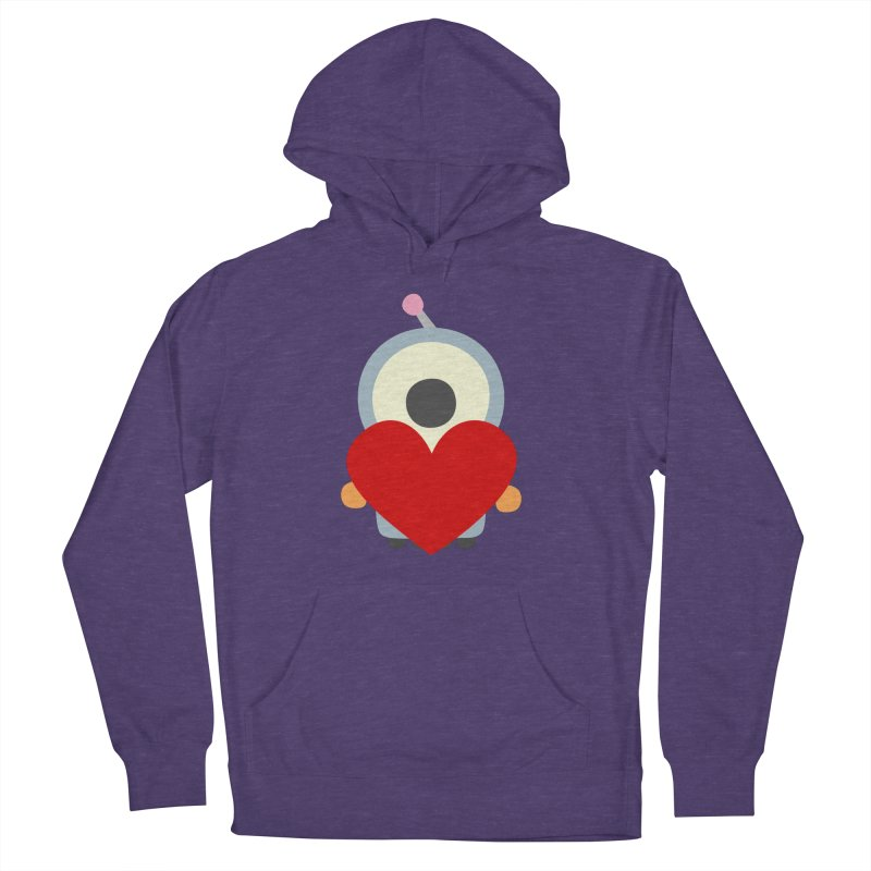 Bot in love in Women's French Terry Pullover Hoody Heather Purple by B