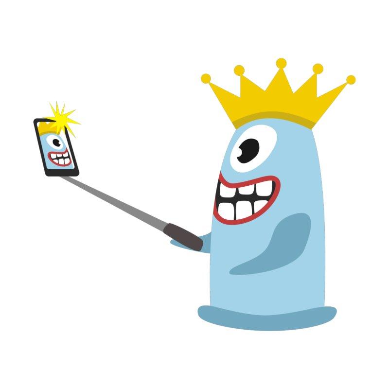 Deppenzepter – Selfie Stick Men's Pullover Hoody by B