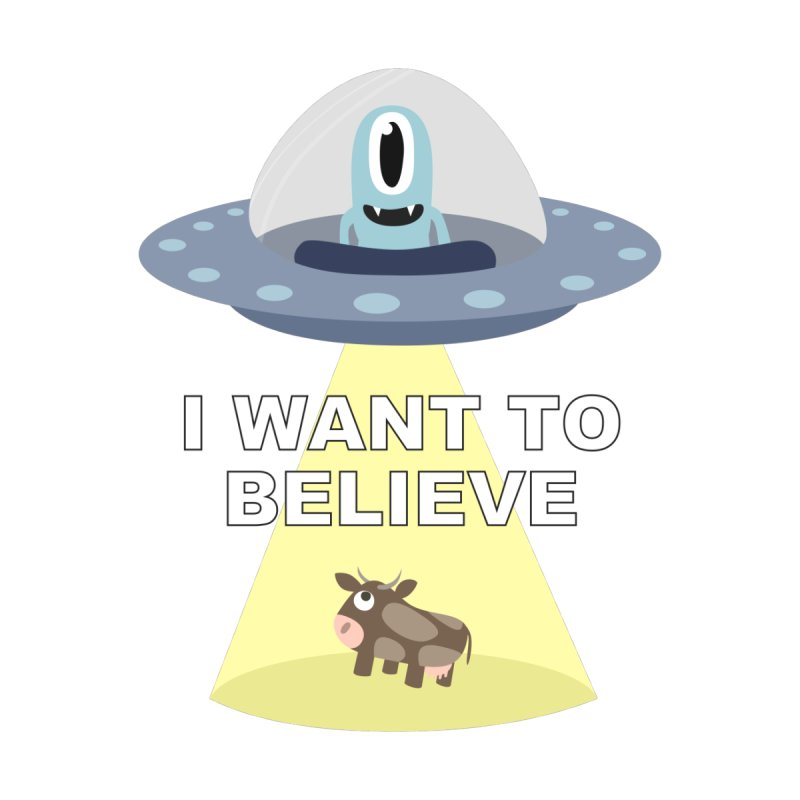 I want to believe Men's T-Shirt by B