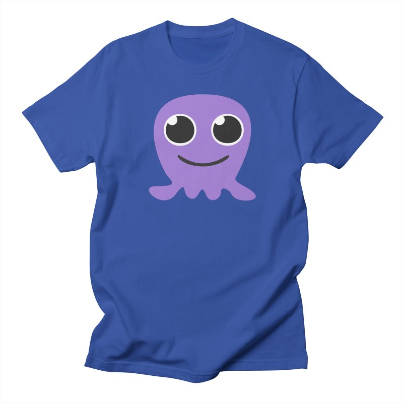 Melly the cute Jellyfish in Men's Regular T-Shirt Royal Blue by B