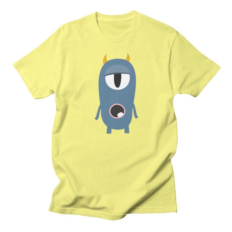 Frank the Sleepyhead in Men's Regular T-Shirt Lemon by B