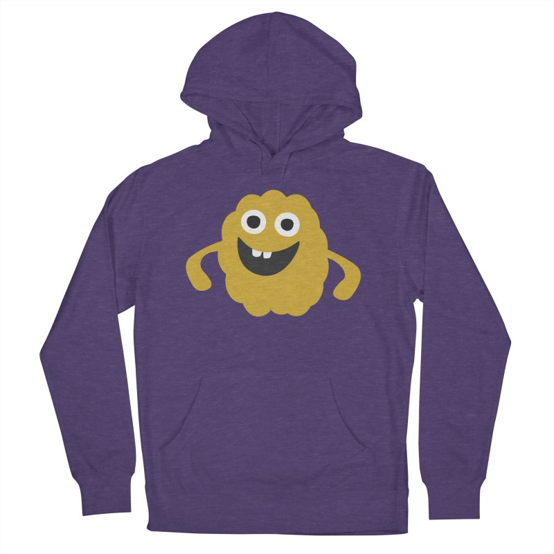 Funny in Women's French Terry Pullover Hoody Heather Purple by B