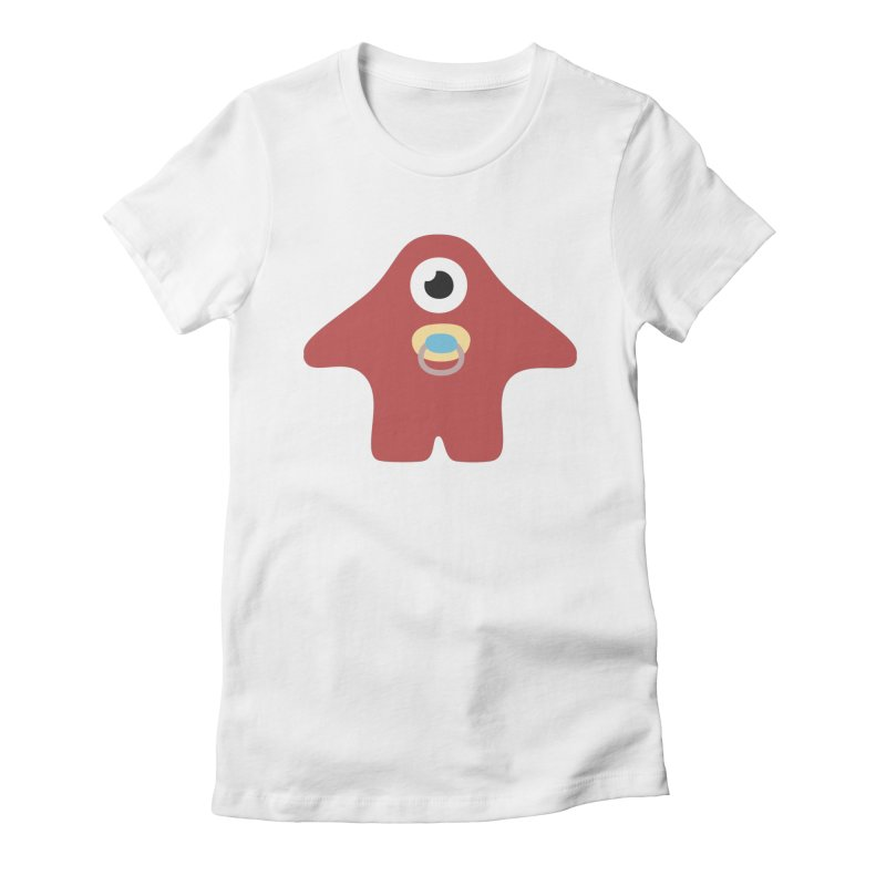 Happy Baby Women's Fitted T-Shirt by B