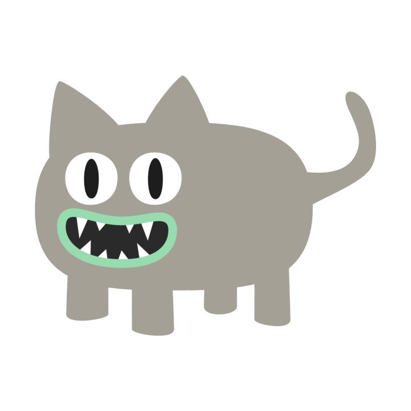 Monster kitten Men's Longsleeve T-Shirt by B