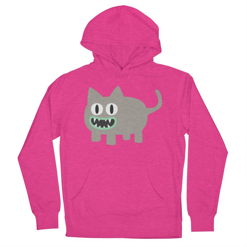 Monster kitten Women's French Terry Pullover Hoody by B