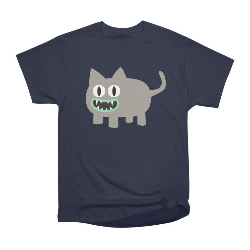 Monster kitten Men's Heavyweight T-Shirt by B