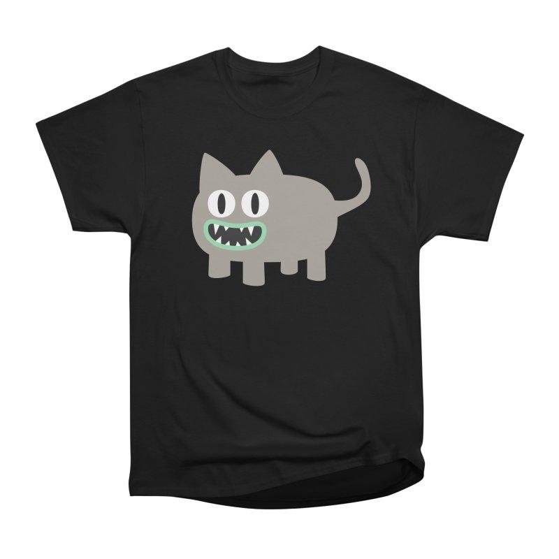 Monster kitten Women's Heavyweight Unisex T-Shirt by B