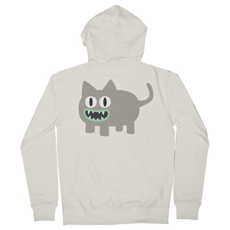 Monster kitten Men's French Terry Zip-Up Hoody by B