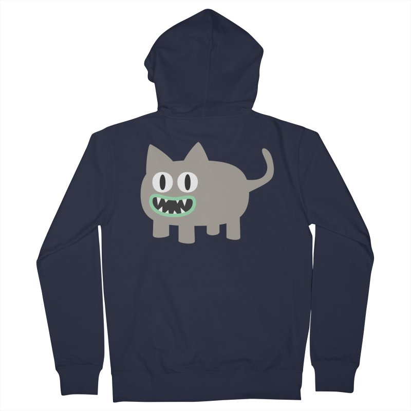Monster kitten Men's French Terry Zip-Up Hoody by B